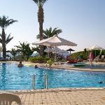 large outside pool