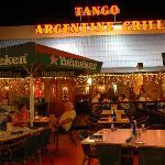 Tango in festive spheres