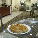 Hot waffle