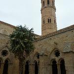 Part of the restored 13 century monastery.