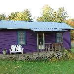 The purple cottage