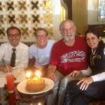 Serhat Meta and Hotel staff arranged a special birthday celebration
