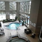 Indoor outdoor pool