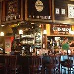 The bar at Doolin's.