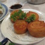 fried fish roll