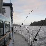 Leaving Ucluelet harbour
