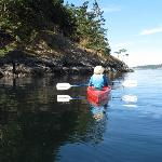 Kayaking in MacKaye Harbor