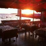 Magnífico ocaso desde el Restaurante Panorama