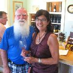 Celebrating our 30th anniversary at Wine Edventures Wine Tours. We had a great time!