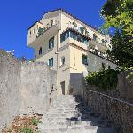 View of Auditorium Rooms from the walk to Amalfi/Minori
