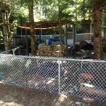 junky seasonal campsite