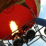 A blast of hot air
