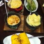 Delicious side dishes - Great presentation
