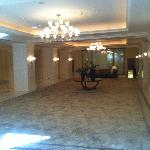 A hall in the hotel