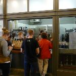 Blue Bottle Coffee - long queue/good coffee