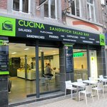 Cucina City Liege.. great place for friends to meet and have meetings