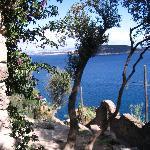Vue du château sur l'ile de Procidia