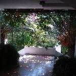hotel exit