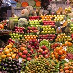 Mediterranean markets and fresh produce