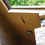 SOFFIT COMING APART