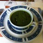 crema di spinaci freschi