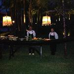 Special Traditional Long Boat Seafood BBQ by the sea dinner for 2