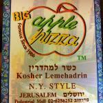 BIG Apple Pizza- KOSHER