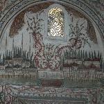 Ethem Bey, affresco veduta moschea
