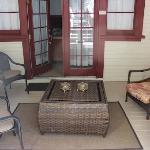 The private porch