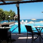 bellissima vista piscina/spiaggia