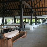 Resort's lobby...