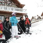 Blanc sur Vert - Easy Ski-in Ski-out access for whole family