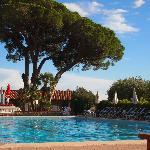 Beim Pool