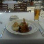 duck, cabbage, dumplings and beer