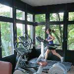 Workout pavilion