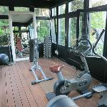 Workout pavilion