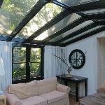 Sunroom for back cottage