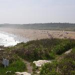 Sandy beach area
