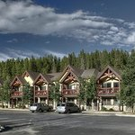 The Breck Inn on a summer day.