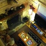 View from bedroom loft