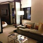 Living Room in City Corner Suite