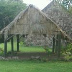 Carib Indian dwelling...