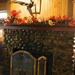 Stone Lodge Fireplace