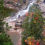 Gorge view at Gooseberry falls