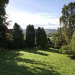 Side yard garden, looking toward dales.