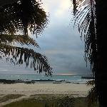 vista desde la habitación mango al mar