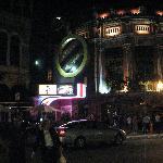 Vue du Capitole la nuit