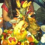 Seafood Platter for 2 (which easily fed us 4)!!