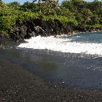 Pretty Black Sand Beach!