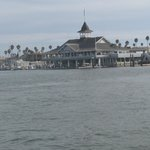View of Harborside from ferry to Balboa Island